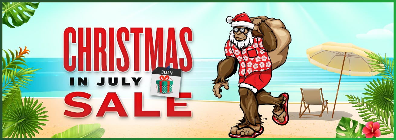 Shop Christmas In July