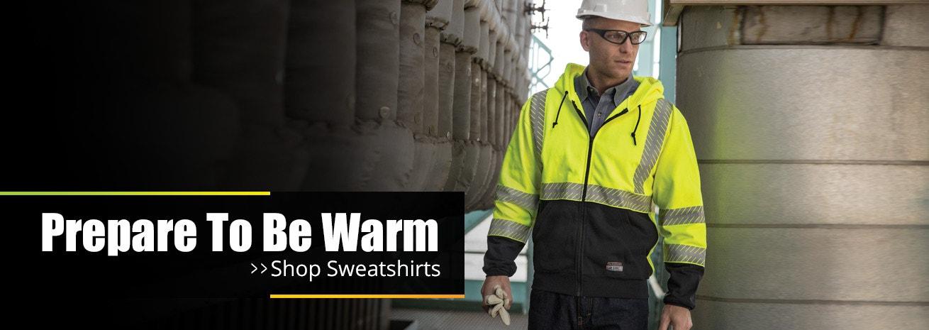 Shop HiVis Sweatshirts