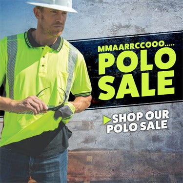 HiVis Supply Polo Sale