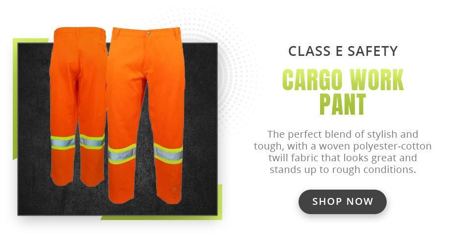 Tough Duck SP01 Class E Safety Cargo Work Pant