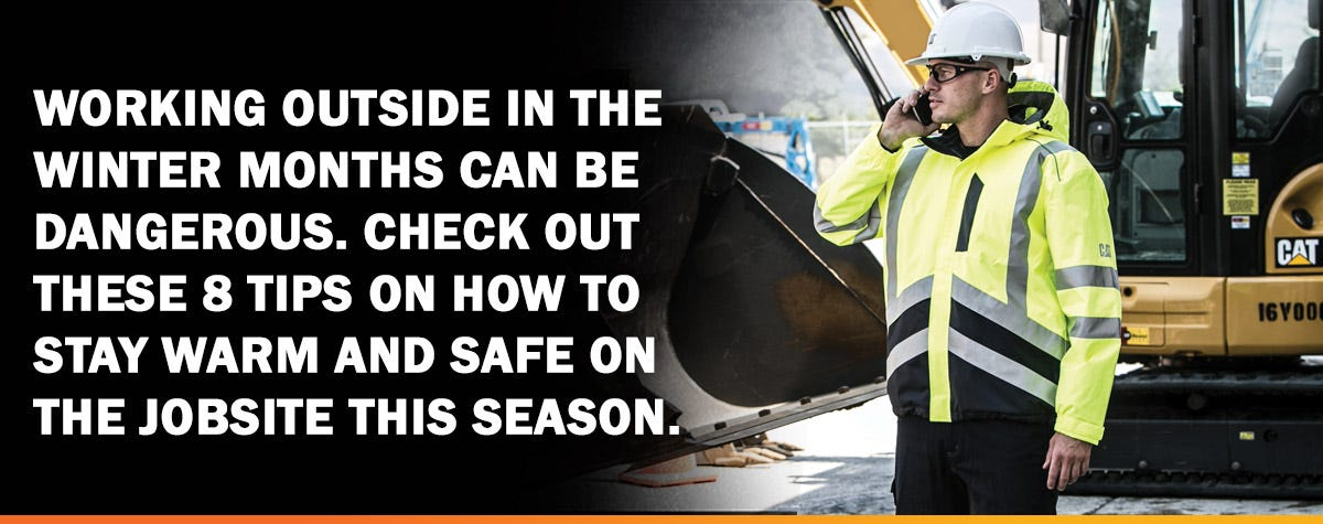 Layering Your HiVis To Stay Warm And Safe