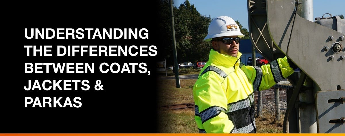 Understanding The Differences Between Coats, Jackets & Parkas