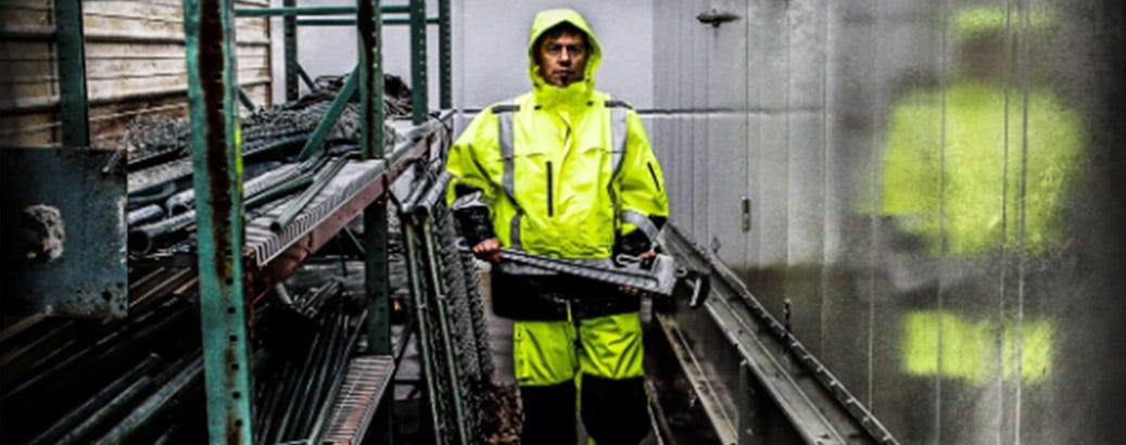 working in wet conditions