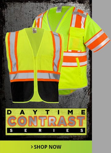 Daytime Contrast Safety Vests