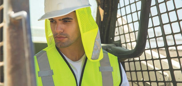 333ee62b2 Cooling Hats | Hard Hat Sun Shields | Cooling Headwear