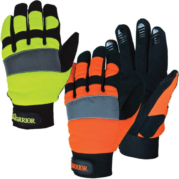 Your Mechanic Promo Code >> 3A Safety Reflective Mechanics Gloves | Warrior High Vis ...