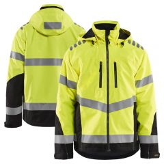 Blaklader 4789 Class 3 Hi Vis Polyester AirMesh Lined PU Coated Safety Jacket