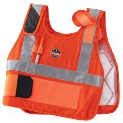 Ergodyne Chill-Its 6215HV Premium FR Phase Change Cooling Vest with Packs
