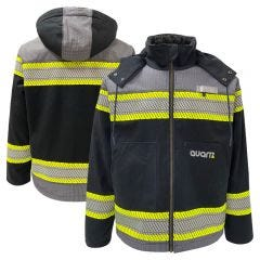 GSS Safety 8517 Enhanced Visibility Black Heavy Duty Canvas Sherpa-Lined Jacket