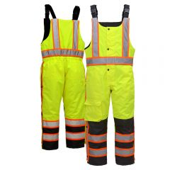 GSS Safety 8701 Contrast Series Class E HiVis Thermal Safety Bibs