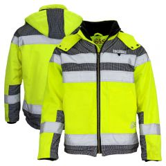 GSS Safety 8515 Class 3 Heavy Duty Canvas Sherpa Lined Safety Jacket