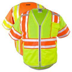 ML Kishigo 1573/1574 Brilliant Series Class 3 Ultimate Reflective Vest