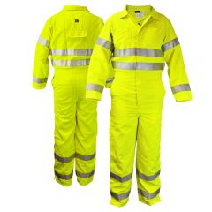 Neese VM7CA3 Class 3 HiVis FR HRC 2 Nomex Safety Coverall