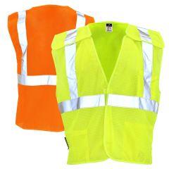 Radians SV4 Economy Class 2 Breakaway Mesh Safety Vest