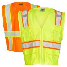 ML Kishigo 1195/1196 Hi Vis Class 2 Ultra-Cool Mesh Safety Vest