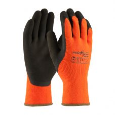 PowerGrab Thermo 41-1400 Grip Gloves with Microfinish | Color: Orange