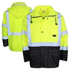 GSS Safety HiVis Class 3 Utility Rain Coat