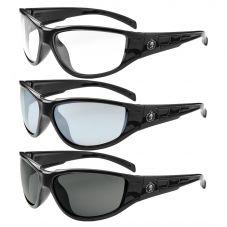 Ergodyne Skullerz Njord Safety Glasses | Black Frame