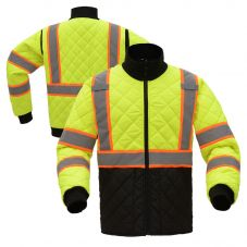 GSS Safety 8007 Contrast Series Class 3 HiVis Quilted Safety Jacket