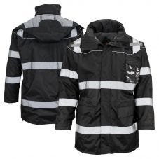 GSS Safety 8509 Enhanced Visibility Fleece Lined Safety Parka