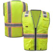 GSS Safety 1705 Class 2 Night Glow Safety Vest