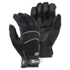 Majestic 2145 Armor Skin Enhanced Visibility Black Lined Winter Mechanics Glove
