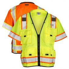 ML Kishigo S5010/S5011 Class 3 Professional Surveyors Safety Vest