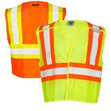 ML Kishigo 1174/1176 Ultra-Cool Breakaway Class 2 Mesh Safety Vest