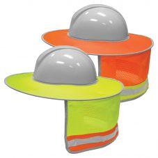 ML Kishigo 2873/2874 Enhanced Visibility Full Brim Hard Hat Sun Shield