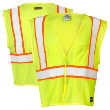 ML Kishigo FM306 Pro Series Class 2 FR Safety Vest HRC-1