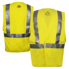 National Safety Apparel VIZABLE FR Class 2 CAT 2 HiVis Contractor Safety Vest