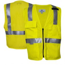 National Safety Apparel 99509 Class 2 CAT 1 FR Deluxe Anti-Static Mesh Vest