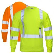 Radians ST21-3 Hi Vis Class 3 Long Sleeve T-Shirt