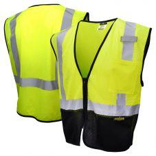 Radians SV3B-2 Black Bottom Economy Mesh Safety Vest