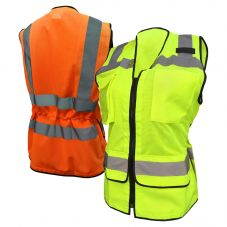 Radians SV59W Class 2 Hi Vis Ladies Heavy Duty Surveyor Safety Vest