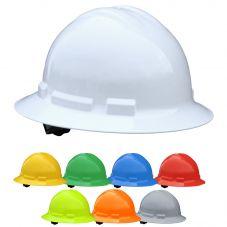 Radians Quartz QHR6 Full Brim 6-Point Ratchet Suspension Hard Hat