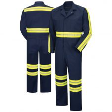 Red Kap CT10 Enhanced Visibility Twill Action-Back Coverall