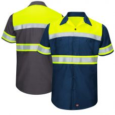 Red Kap SY80 Ripstop Class 1 Short Sleeve Work Shirt
