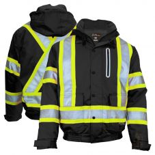 Work King SJ20 Class 1 Hi Vis 300D Ripstop Thinsulate Lined Safety Bomber