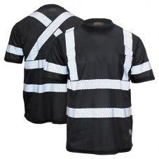 Work King ST07 Enhanced Visibility Segmented Tape Micro Mesh Short Sleeve T-Shirt