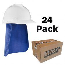 Ergodyne Chill-Its 6717 Evaporative Cooling Hard Hat Pad w/ Neck Shade - Bulk 24 Pack