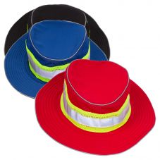 ML Kishigo B22/B24 Enhanced Visibility Series Full Brim Safari Hat