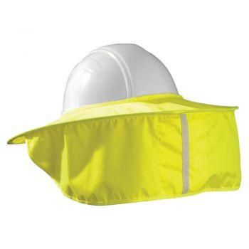 Enhanced Visibility Stow-Away Hard Hat Shade