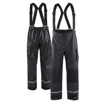 Blaklader 1387 PU Coated Reflective Rain Pants