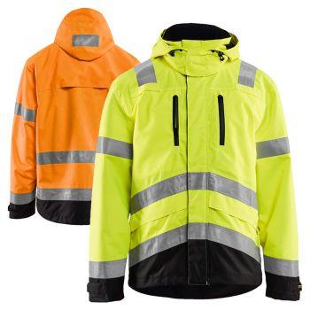 Blaklader 4937 Class 3 Hi-Vis Rain Jacket