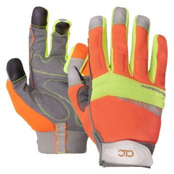 CLC 128 Flex Grip Work Gloves with Touch Screen Fingertips