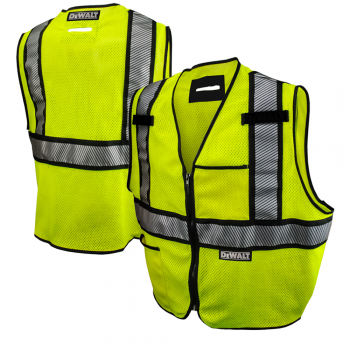 DeWALT DSV971 High Visibility Class 2 FR Mesh Safety Vest