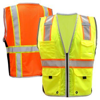 GSS Safety 1703/1704 Class 2 Hyper-Lite Safety Vest