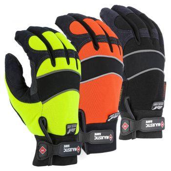 Majestic 2145 Armor Skin Enhanced Visibility Lined Winter Mechanics Glove
