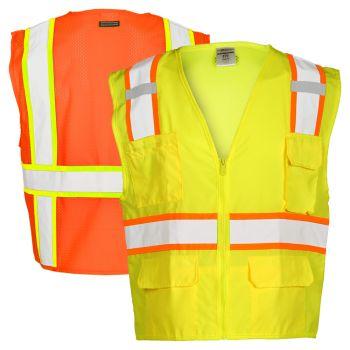 Kishigo 1163 ANSI Class 2 Mesh Back Ultra-Cool Safety Vest